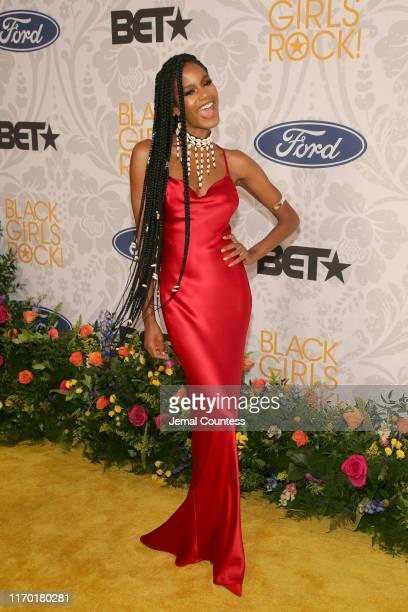Ebonee Davis attends Black Girls Rock 2019 Hosted By Niecy Nash at NJPAC on August 25, 2019 in Newark, New Jersey.