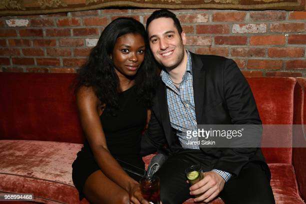 Ebonee Noel and Joe Rudnick attend the Gersh Upfronts Party 2018 at The Bowery Hotel on May 15 2018 in New York City