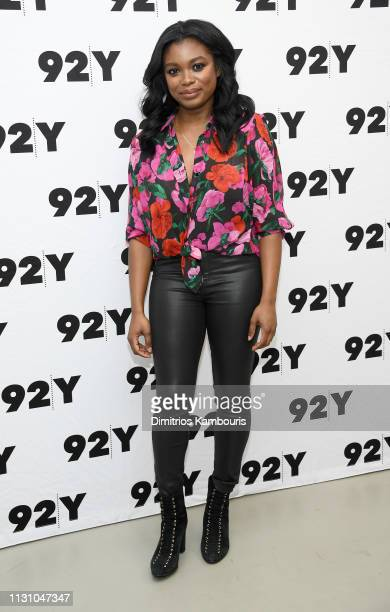 Ebonee Noel attends CBS' FBI Screening Conversation at 92nd Street Y on February 20 2019 in New York City