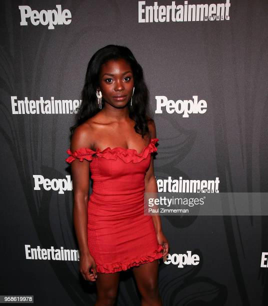 Ebonee Noel attends the 2018 Entertainment Weekly PEOPLE Upfront at The Bowery Hotel on May 14 2018 in New York City