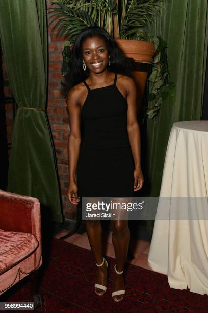 Ebonee Noel attends the Gersh Upfronts Party 2018 at The Bowery Hotel on May 15 2018 in New York City