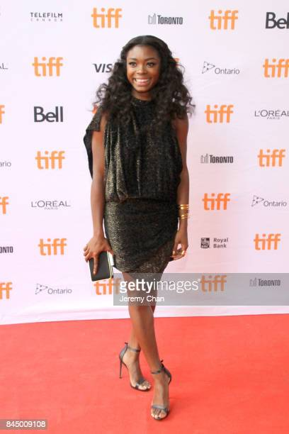 Ebonee Noel attends the I Love You Daddy premiere during the 2017 Toronto International Film Festival at Ryerson Theatre on September 9 2017 in...