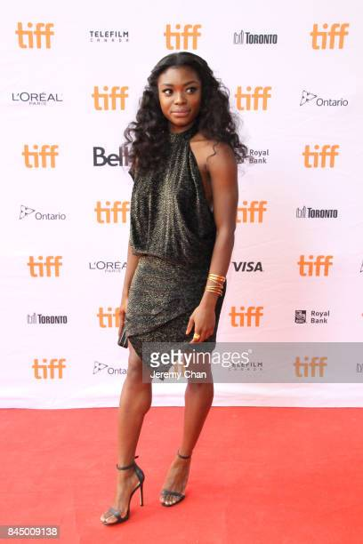 """Ebonee Noel attends the """"I Love You Daddy"""" premiere during the 2017 Toronto International Film Festival at Ryerson Theatre on September 9, 2017 in..."""