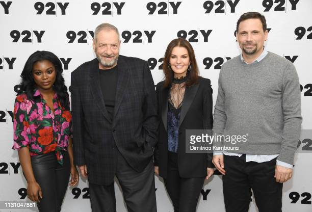 Ebonee Noel producer Dick Wolf Sela Ward and Jeremy Sisto attend CBS' FBI Screening Conversation at 92nd Street Y on February 20 2019 in New York City