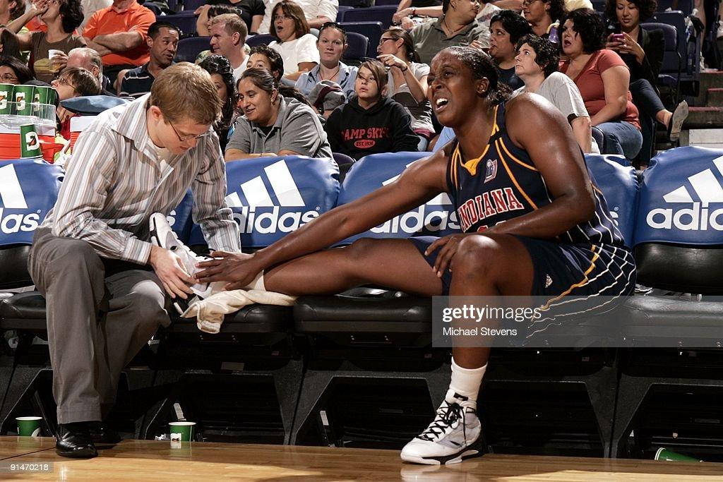 WNBA Finals Game 1:  Indiana Fever v Phoenix Mercury