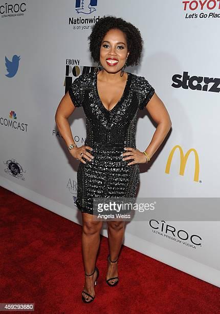Ebony Magazine editorinchief Mitzi Miller attend the 2014 Ebony Power 100 List event at Avalon on November 19 2014 in Hollywood California