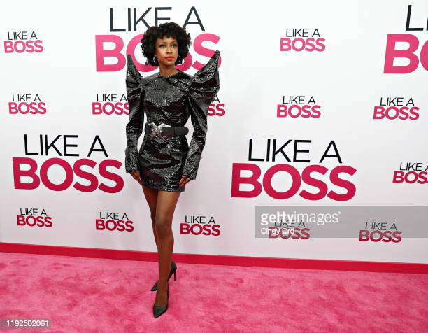 Ebony Obsidian attends the world premiere of Like A Boss at SVA Theater on January 07 2020 in New York City