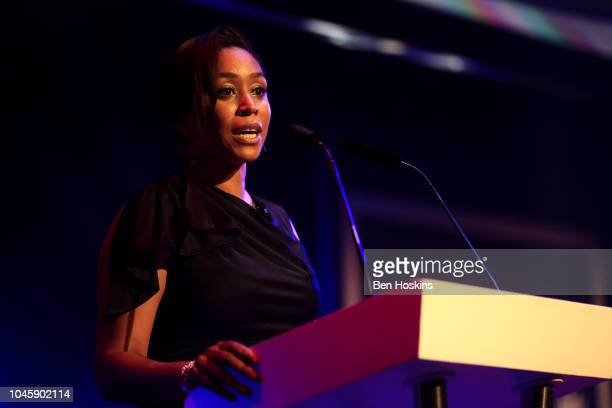 Ebony RainfordBrent presents the NatWest PCA Awards at The Roundhouse on October 4 2018 in London England