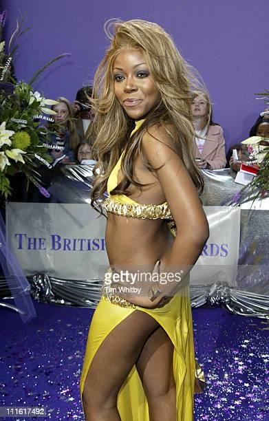 Ebony Thomas During The 2005 British Soap Awards Arrivals At Bbc Tv Studios In London Great