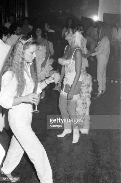Ebony White Ball at the Embassy Club December 1981
