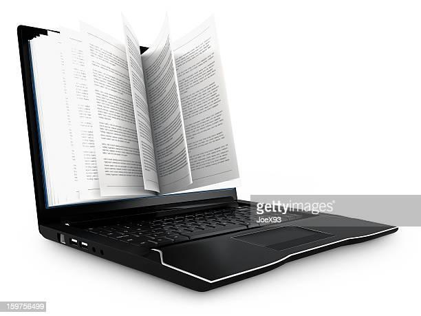 E-book-Konzept