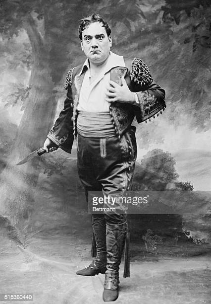 Ebrico Caruso from the opera Carmen Composer Georges Bizet