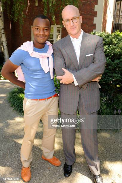 Ebs Burnough and Peter Arnold attend Cynthia Rowley Summer/Spring 2011 Reception With Johnson Johnson at Cooper Hewitt Museum on September 11 2010 in...