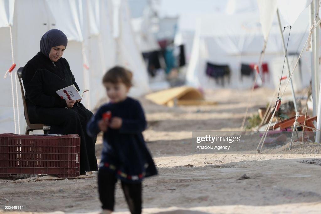 Syrian award-winning writer in Turkey's Sanliurfa : News Photo