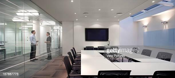 Ec Harris London United Kingdom Architect Swanke Hayden Connell Ec Harris Ground Floor Meeting Room