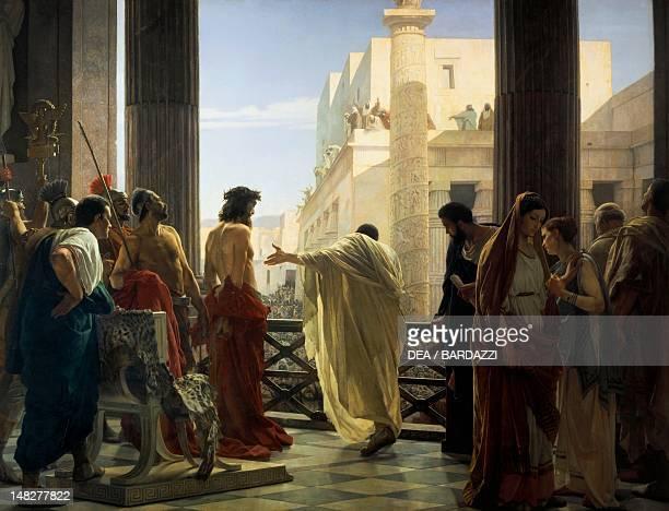 Ecce Homo 18711891 by Antonio Ciseri oil on canvas 298x396 cm Florence Palazzo Pitti Galleria D'Arte Moderna