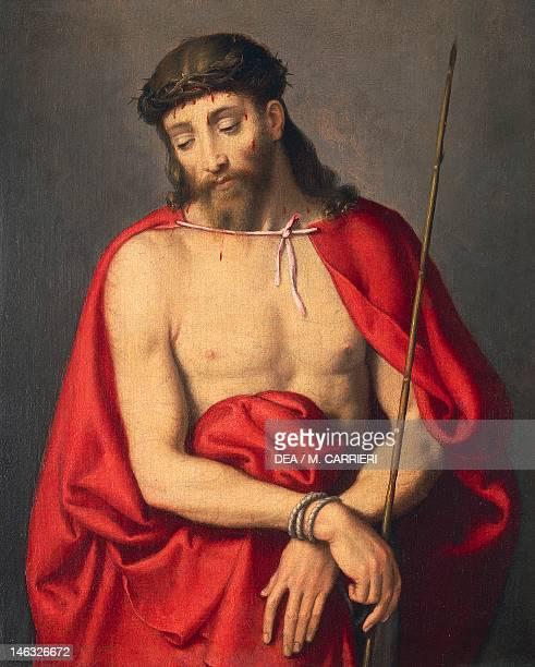 Ecce Homo by Giovanni Battista Moroni oil on canvas