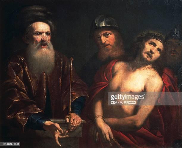 Ecce Homo by Orazio de Ferrari oil on canvas 109x137 cm Rome Galleria Nazionale D'Arte Antica Di Palazzo Corsini