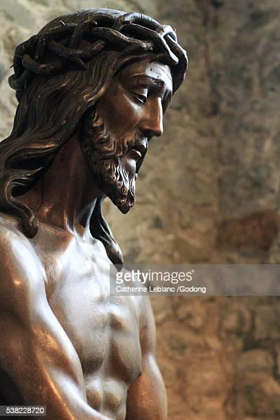 Ecce homo. St. Basil's chapel. Holy Blood Basilica.
