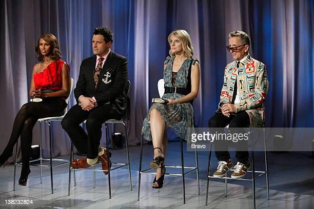 "Eccentric Glamour with Simon Doonan"" Episode 208 -- Pictured: Judges: Iman, Isaac Mizrahi, Laura Brown, Simon Doonan"