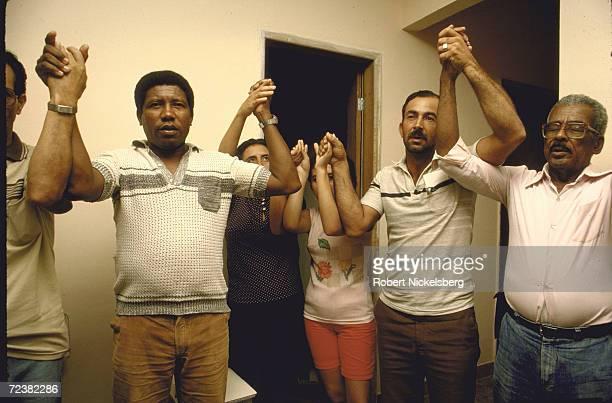 Ecclisiastical base community meeting near Rio de Janeiro