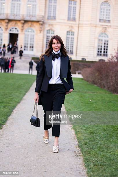 Ece Sukan ttends the Dior Couture show at Musee Rodin on January 25 2016 in Paris France