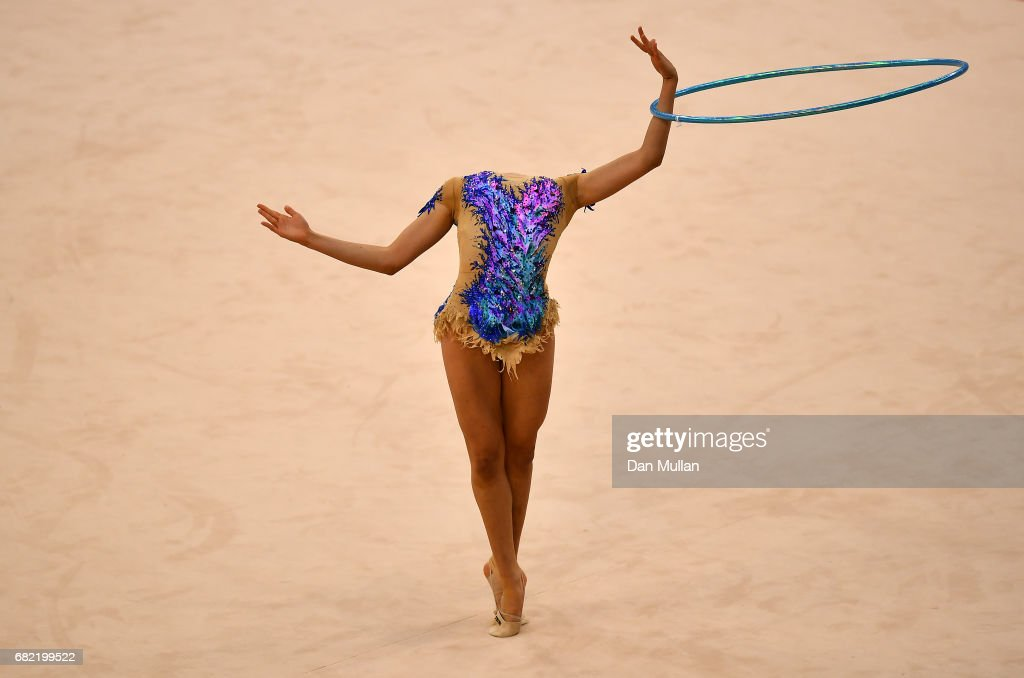 Ecem Cankaya of Turkey competes in the Individual Gymnastics Qualification during day one of Baku 2017 - 4th Islamic Solidarity Games at the National Gymnastics Arena on May 12, 2017 in Baku, Azerbaijan.