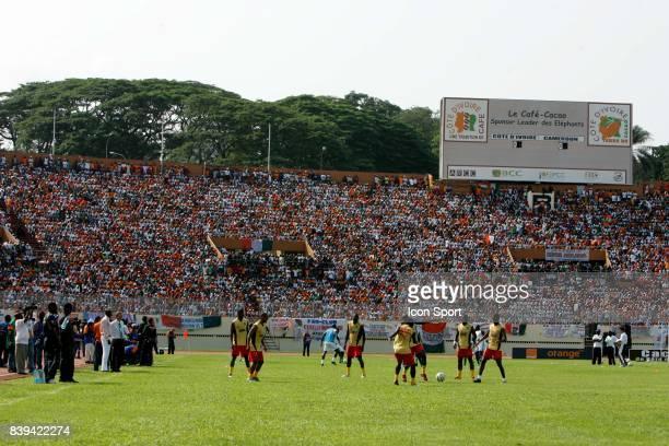 Echauffement Cameroun Cote d'Ivoire / Cameroun Eliminatoires Coupe du Monde
