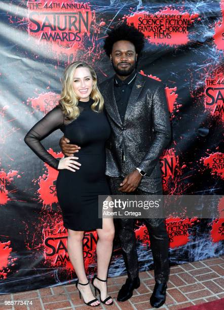 Echo Kellum and guest attend the Academy Of Science Fiction Fantasy Horror Films' 44th Annual Saturn Awards at The Castaway on June 27 2018 in...