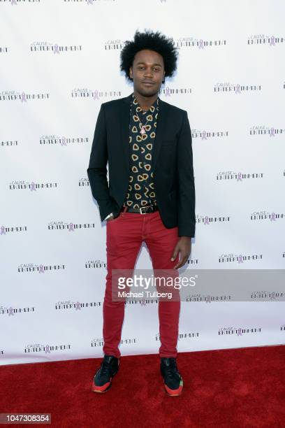 Echo Kellum attends A Cause For Entertainment's 4th annual fundraising event to fight breast cancer at Candela on October 7 2018 in Los Angeles...