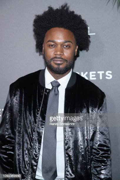 Echo Kellum attends Entertainment Weekly Celebrates Screen Actors Guild Award Nominees sponsored by L'Oreal Paris Cadillac And PopSockets at Chateau...
