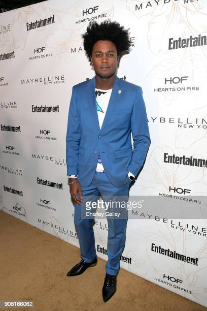 Echo Kellum attends Entertainment Weekly's Screen Actors Guild Award Nominees Celebration sponsored by Maybelline New York at Chateau Marmont on...