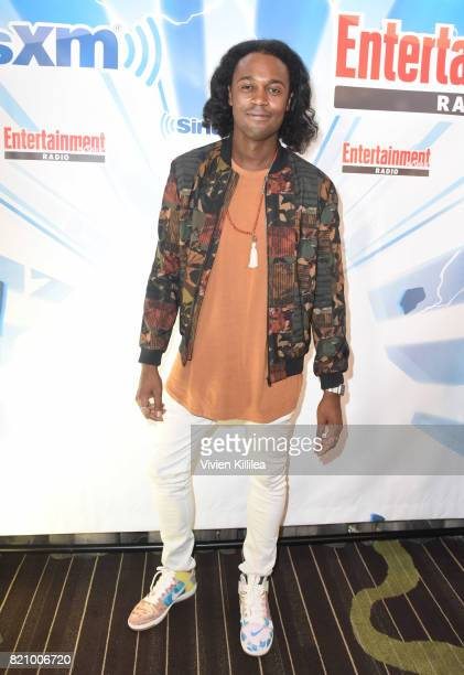 Echo Kellum attends SiriusXM's Entertainment Weekly Radio Channel Broadcasts From Comic Con 2017 at Hard Rock Hotel San Diego on July 22 2017 in San...