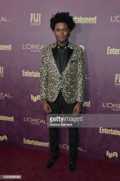 Echo Kellum attends the 2018 PreEmmy Party hosted by Entertainment Weekly and L'Oreal Paris at Sunset Tower on September 15 2018 in Los Angeles...