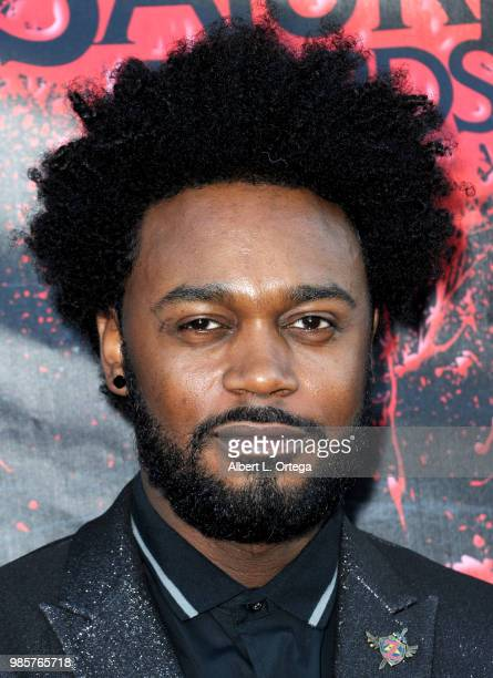 Echo Kellum attends the Academy Of Science Fiction Fantasy Horror Films' 44th Annual Saturn Awards at The Castaway on June 27 2018 in Burbank...