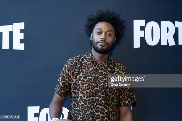 Echo Kellum attends the Epic Games Hosts Fortnite Party Royale on June 12 2018 in Los Angeles California