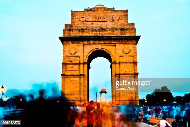 echoes - india gate stock pictures, royalty-free photos & images