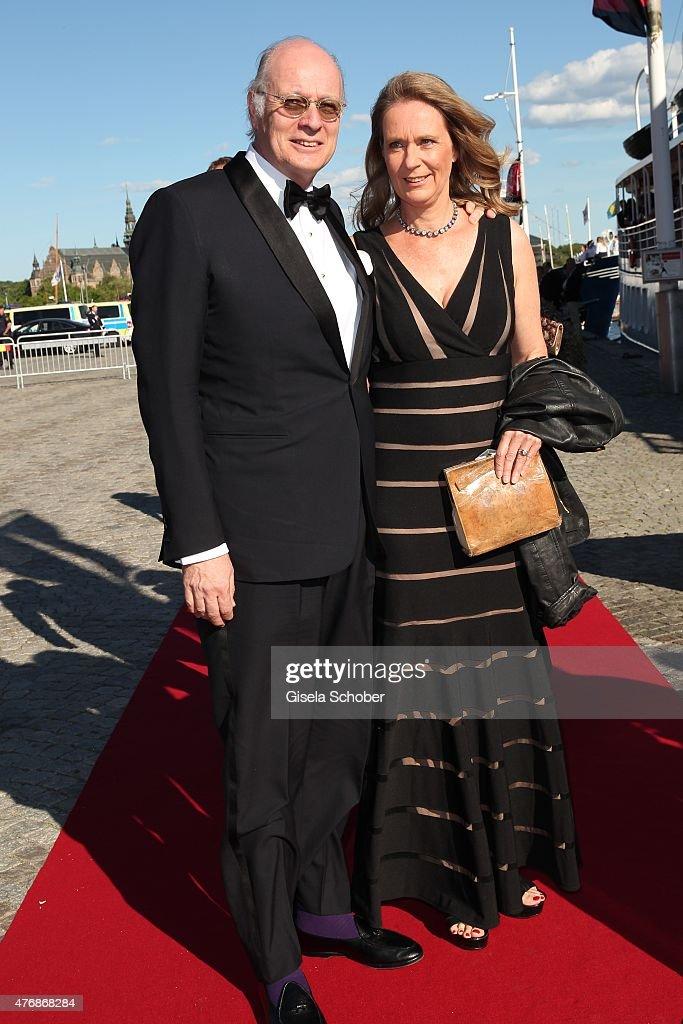 Pre-Wedding Dinner of Swedish Prince Carl Philip and Sofia Helqvist : News Photo