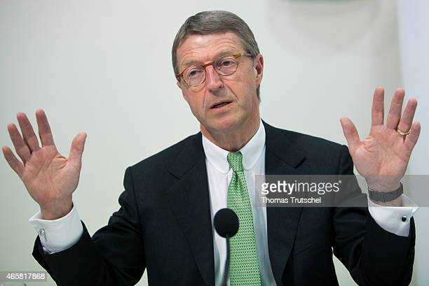 Eckhard Cordes Chairman of the Board of Metro AG on February 07 2011 in Berlin Germany