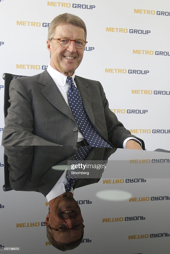 Eckhard Cordes, chief executive officer of Metro AG, poses in Berlin, Germany, on Wednesday, June 16, 2010. Metro AG, Germany's largest retailer, said its first-quarter results were 'very promising' and sales growth in Asia exceeded 10 percent. Photographer: Michele Tantussi/Bloomberg via Getty Images