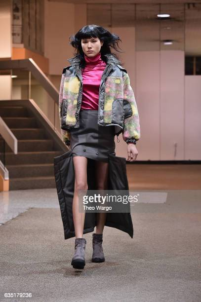 Eckhaus Latta Runway February 2017 New York Fashion Week on February 13 2017 in New York City