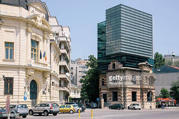 Eclectic architecture of Bucharest, Romania