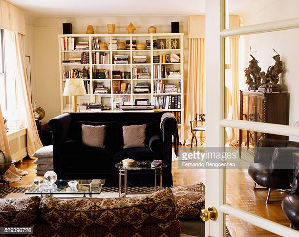 Eclectic Furnishings in Living Room
