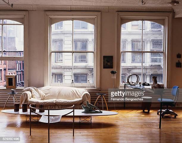 Eclectic Furniture in Loft