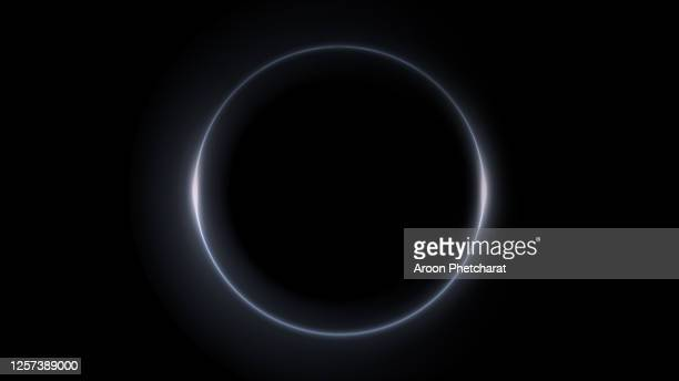eclipse light, abstract lens flare ring background. - 天文 蝕 ストックフォトと画像