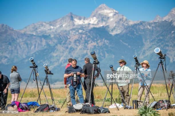 Eclipse photographers