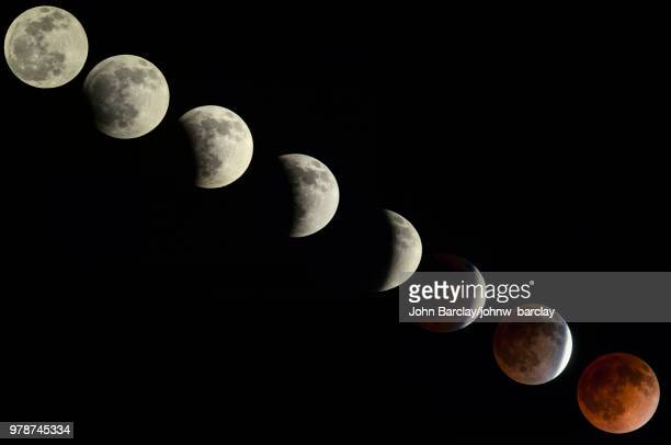 eclipse - lunar eclipse stock pictures, royalty-free photos & images