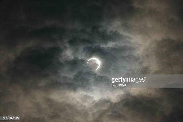 Eclipse Through the Cloud