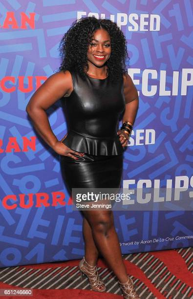Eclipsed Actress Stacey Sargeant attends the celebration of Women's History Month on it's Opening Night of Eclipsed at the Curran Theater on March 9...