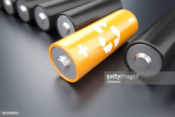 Concepto de batería de eco